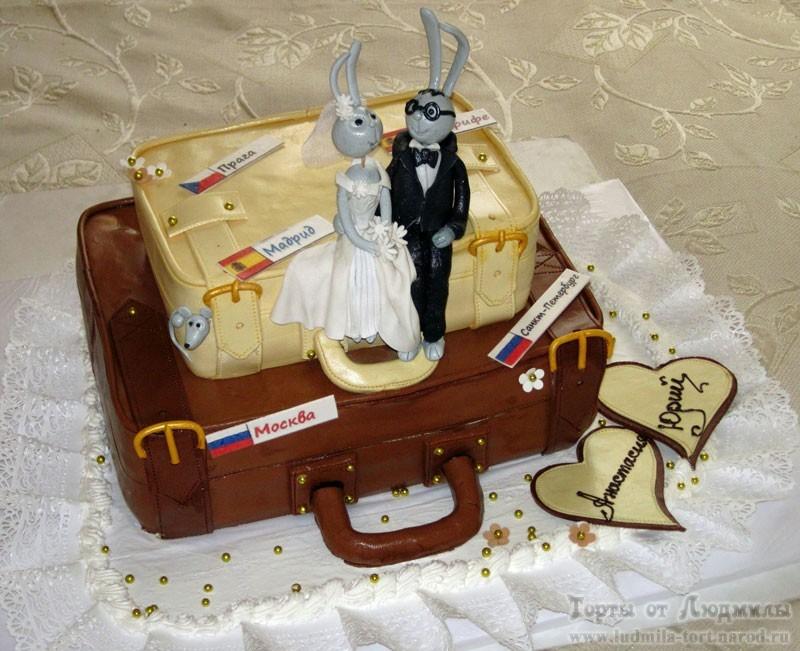 свадебные торты фото