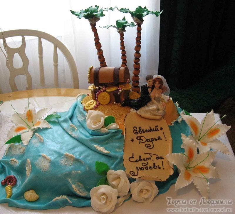 необычные свадебные торты на заказ