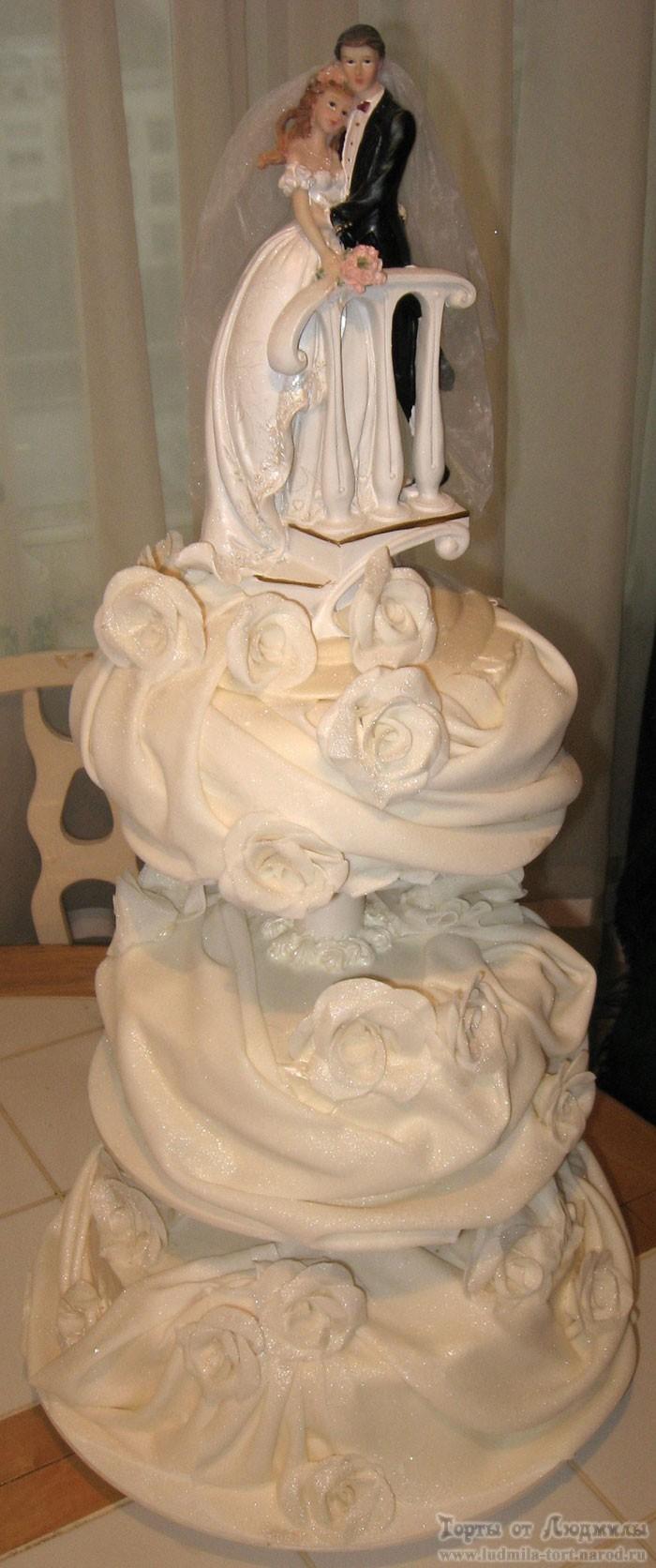 фигурка на свадебном торте