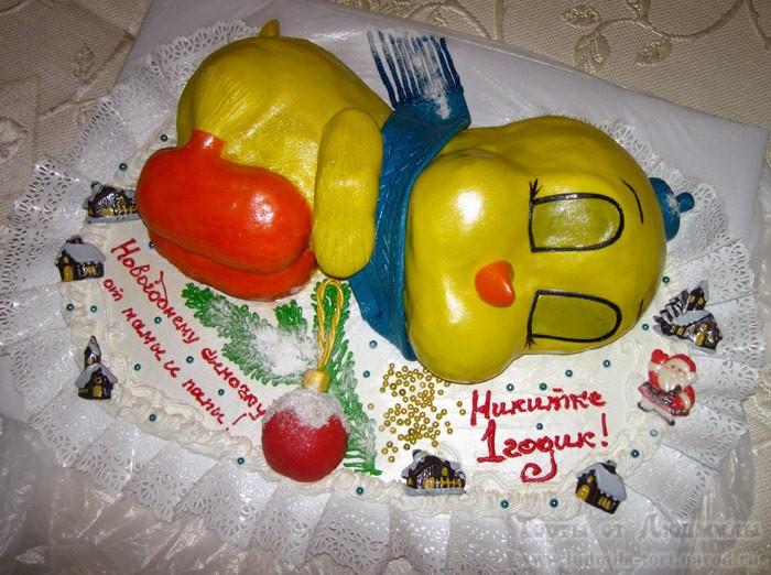 детский торт на день рождения на заказ фото