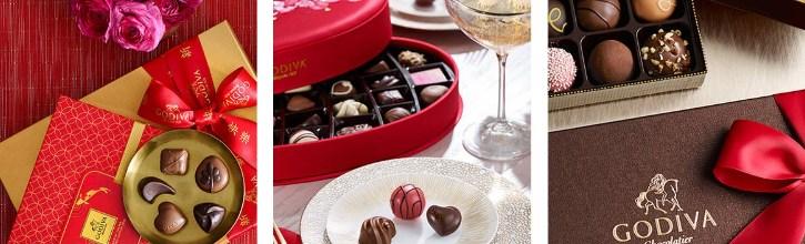 шоколадные подарки ко дню святого валентина