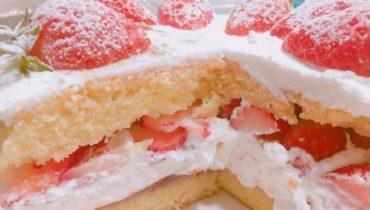 бисквитный торт к 8 марта своими руками