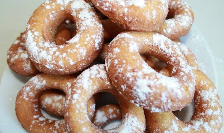 пончики из дрожжевого теста